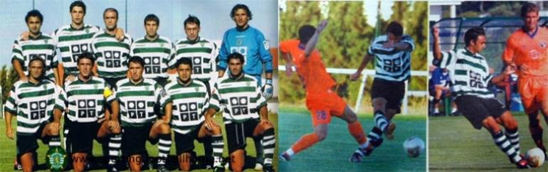 Fotos do jogo Sporting-Alverca pré-época Julho 2003