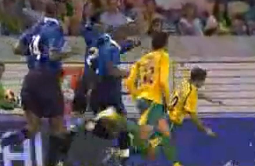 Marco Caneira no jogo do Centenário contra o Inter dia 21 de Agosto de 2006