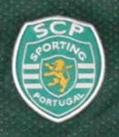 Camisola alternativa modelo 2000/01, das camadas de formação do futebol do Sporting