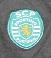 Equipamento de jogador de campo da Academia Sporting de Alcochete, de 2002/03, versão de mangas compridas