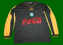 Match worn away shirt Sporting Alcochete, 2002/03