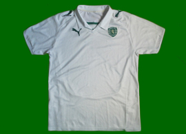 Terceira camisola branca do Sporting sem sponsor 2008/09