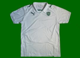 Sporting Lisbon third jersey, white, no sponsor 2008/09