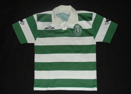 1995/1996, U-12. Jersey from the Sporting Lisbon football school. Made by the portuguese brand Emeve