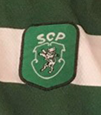 1999/00. Camisola do júnior Osório