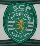 Camisola de jogo SCP 2002 2003 juniores logo