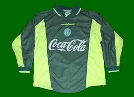 Sporting camisola alternativa juniores 2000 2001