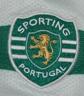 Sporting iniciados academia camisola 2009 2010 campeao emblema