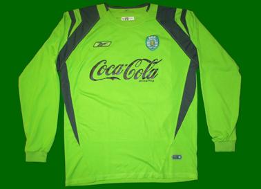 juniores A do Sporting 2004/05, camisola do Tiago Pires