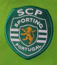 2004/2005, juniores A. Camisola alternativa de jogo do Sporting de mangas compridas, do Tiago Pires