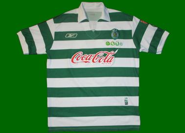 juniores A do Sporting 2005/2006, camisola do Tiago Pires