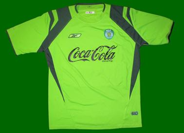 juniores A do Sporting 2004/05, terceiro equipamento do Tiago Pires