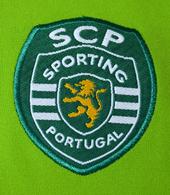 Equipamento oficial do Sporting alternativo de jogo, dos juniores