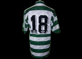camisola de jogo de jogador desconhecido, jogo amigável Boavista Sporting
