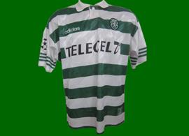 camisola do Saber jogo Lierse-Sporting 1 de Outubro de 1997 2ª jornada da Liga dos Campeões