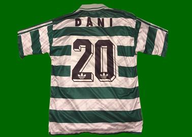 1995/96. Camisola de jogo do Dani