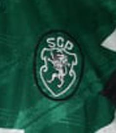 1992/93. Camisola de Futebol Adidas alternativa, usada em jogo por Juskowiak