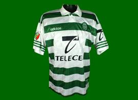 equipamento de jogo do Campeonato Nacional Sporting 1997 1998 Luís Miguel