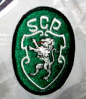 Equipamento alternativo do Sporting Taça UEFA fora contra o Maccabi Haifa 1995