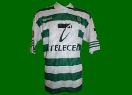 Sporting Lisbon match worn top, player Oceano 1997/98