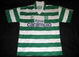 equipamento Sporting Clube de Portugal caramulo adidas 1992 1993