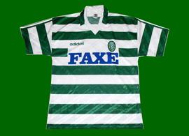 Sporting 93/94 equipamento da pre-época