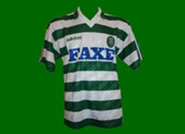 equipamento do Sporting 1993 1994 Balakov shirt maglia