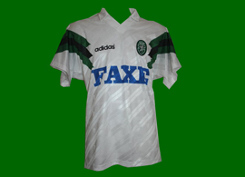 Sporting Clube de Portugal Faxe adidas 1993/94 trikot