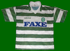replica home jersey Sporting Lisbon 1993 94