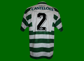 match worn Sporting Club de Portugal Castelões 1994