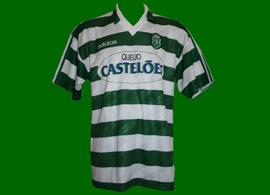 match worn Sporting Club de Portugal Castelões 1994