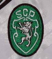 equipamentos alternativos Sporting castelões 1994 1995 logo