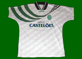 Camisola alternativa Sporting castelões 1994 1995