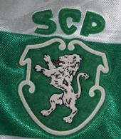 equipamento do Sporting 1995 1996 do jogador Marco Aurelio
