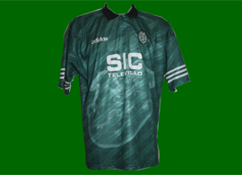 Sporting 1995 1996 SIC Adidas away jersey game worn