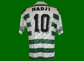 Mustapha Hadji Marroc France Marrocos Sporting 1996