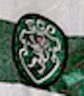 Match worn Sporting 1997 1998 Lang Club crest