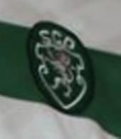 Match worn shirt Sporting 1997 1998 Marco Aurelio Champions League