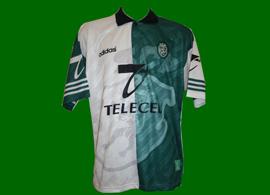 maillot porté Stromp Saber Sporting Lisbonne 1997