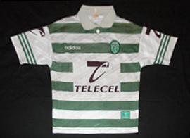 equipamento Sporting Adidas 1997 1998 Telecel