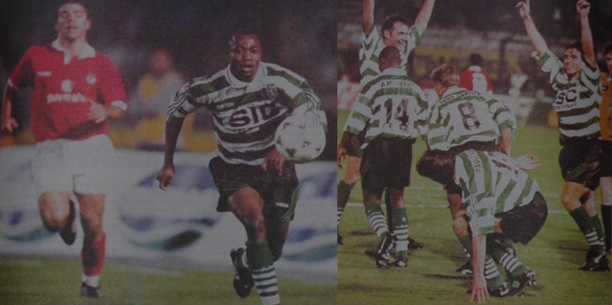 segunda versão das camisolas listadas SIC/Adidas 1995/96