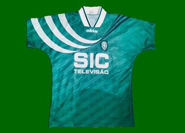 Camisola alternativa verde Adidas Sporting SIC