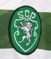 camisola do Sporting do Figo pre-epoca 1994 95 Casteloes