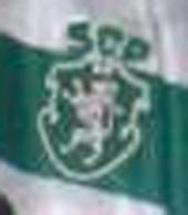equipamento do simbolo do Sporting capitão Oceano SIC televisão