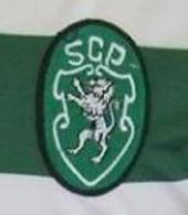 equipamento Sporting plantel 1994 1995 logo