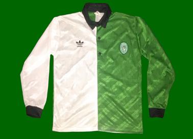 Camisola Adidas Stromp player issue, semelhante à usadas no jogo de apresentação aos sócios, a 1 de Agosto de 1992