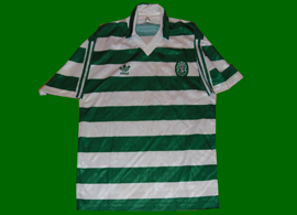 equipamento do Sporting 1992/1993. Camisola player issue, sem patrocínio