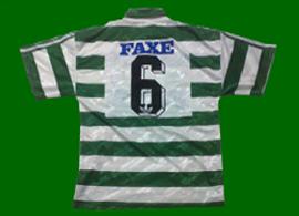 1993/94. Equipamento vestido por Paulo Sousa na Final da Taça contra o Porto