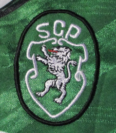 1994/95. Camisola alternativa verde do Sporting, réplica