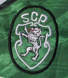 1994/95. Green away shirt Sporting Portugal, replica